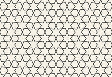 Abstract seamless geometric islamic wallpaper pattern Royalty Free Stock Photos