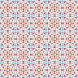 Abstract seamless geometric op three color pattern Stock Photos