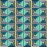 Abstract seamless geometric pattern Stock Image