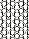 Geometric pattern in black Stock Images