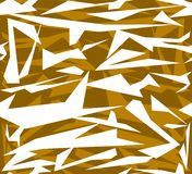 Abstract seamless geometric pattern of chaotic polygonal shapes Stock Images