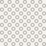 Abstract seamless geometric pattern of circles divided into four. Parts. Modern stylish texture. Contemporary graphic design. Geometric lattice. Vector Royalty Free Stock Photos