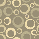 Abstract Seamless geometric pattern with circles Stock Image