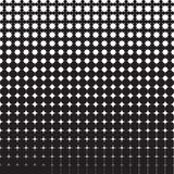 Abstract seamless geometric pattern from figures of different sizes. Halftone Stock Image
