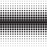 Abstract seamless geometric pattern from figures. Of different sizes, halftone Royalty Free Stock Image