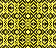 Abstract seamless geometric pattern in modern style Royalty Free Stock Images