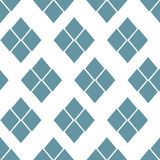 Abstract seamless geometric pattern. Monochrome  illustration can be copied without any seams Stock Images