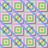 Abstract seamless geometric pattern Royalty Free Stock Photo