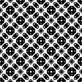 Abstract seamless geometric  pattern rectangle circle arts. Abstract seamless geometric  wallpaper pattern for your design,printing domestic work and sheet less Stock Photos