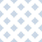 Abstract Seamless geometric pattern. Symmetrically repeating pattern with rhombus. Vector  illustration Royalty Free Illustration