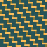 Abstract seamless geometric pattern of tiles in the form of stai Stock Photos
