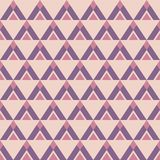 Abstract seamless geometric pattern of triangles. Stylish texture. Repeating geometric tiles. Ethnic pattern texture. Pastel colors. Vector color background royalty free illustration