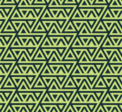 Abstract seamless geometric pattern from triangles -vector eps8 Stock Photos