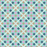 Abstract seamless geometric pattern. Stock Image