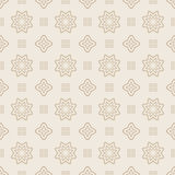 Abstract Seamless geometric pattern. Vector illustration Vector Illustration