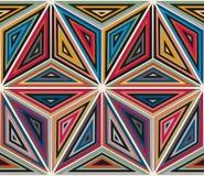 Abstract seamless geometric pattern Stock Photo