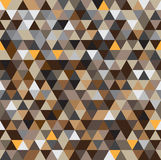 Abstract seamless geometric patterns background with brown tone Royalty Free Stock Photography