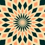 Abstract seamless geometric patterns. Kaleidoscope seamless stock illustration