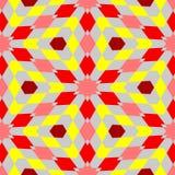 Abstract seamless geometric patterns. Kaleidoscope seamless vector illustration