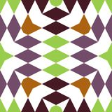 Abstract seamless geometric patterns Stock Image