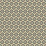 Abstract seamless geometric retor vintage background  illu Royalty Free Stock Photos
