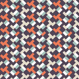 Abstract seamless geometric retor vintage background   Royalty Free Stock Photography