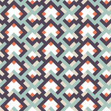Abstract seamless geometric retor vintage background   Stock Image