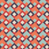 Abstract seamless geometric retor vintage background   Royalty Free Stock Photos