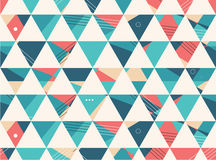 Abstract Seamless geometric shape vector pattern Royalty Free Stock Image