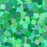 Abstract seamless square background pattern - vector graphic from rotated green squares with shadow effect. Abstract seamless geometric square background pattern Stock Images