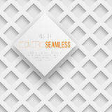 Abstract seamless geometric square pattern with Royalty Free Stock Photography