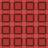 Abstract seamless geometric squares red pattern Stock Photography