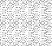 Abstract seamless geometric vector pattern - entwined grides on Royalty Free Stock Photo