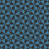 Abstract seamless geometric wallpaper pattern Royalty Free Stock Photos