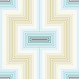 Abstract seamless geometric X-shaped pattern Royalty Free Stock Photos