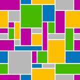 Abstract seamless geometrical pattern. Abstract seamless geometrical pattern background Stock Photography