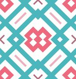Abstract seamless geometrical pattern for flyers, wrapping papers, web backgrounds, scrapbook, fabric design. Abstract seamless geometrical pattern. Endless Royalty Free Stock Images