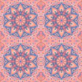 Abstract seamless geometrical pattern. Vintage background texture. stock illustration