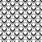 Abstract seamless geometrical pattern on white Royalty Free Stock Photo