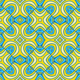 Abstract seamless Golden pattern. For fabrics, floor tiles, in EPS10 format and Jpeg 25Mpx Stock Photos