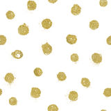 Abstract seamless golden pattern Royalty Free Stock Photography