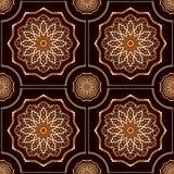 Gothic seamless pattern Stock Photo