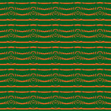 Abstract seamless green background with eye patterns Royalty Free Stock Image