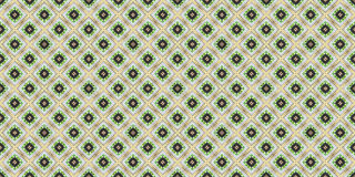 Abstract seamless green pattern for design. royalty free stock photo