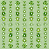 Abstract seamless green pattern season holidays. Vector background Royalty Free Stock Image