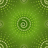 Abstract seamless green pattern (vector) Royalty Free Stock Image
