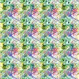 Abstract seamless grunge urban pattern with arrow, lines, graffiti, Shape textured elements, ink. Bright background. Geometric repeated backdrop for boys Stock Photos