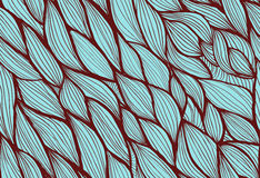 Abstract seamless hand-drawn background Stock Image