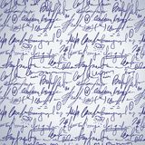 Abstract seamless hand write pattern Royalty Free Stock Image