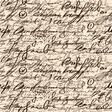 Abstract seamless hand write pattern. This is file of EPS8 format Stock Photography